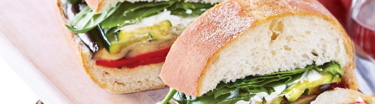 Ultimate Grilled Veggie Sandwich